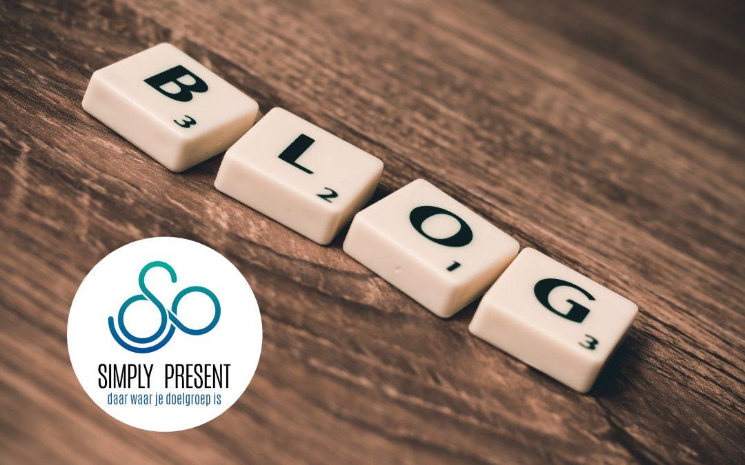 Goede voornemens voor 2020: meer bloggen!